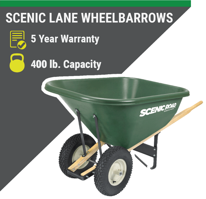 SCENIC LANE WHEELBARROWS